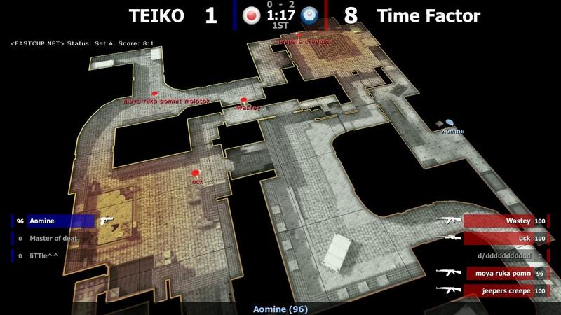 Time Factor VS TEIKO map 2