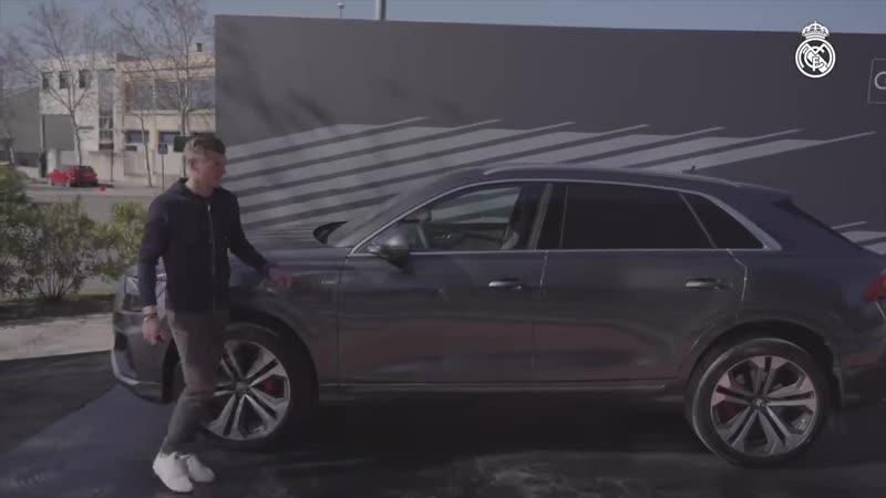 За кадром: Мадридисты получили свои новенькие Audi