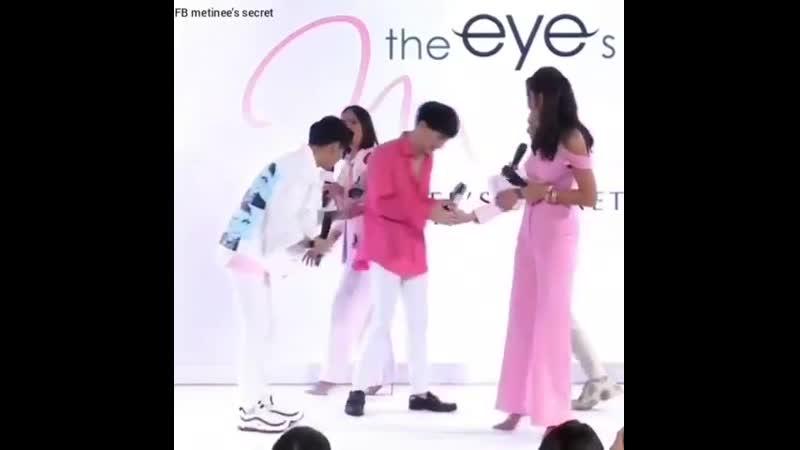 23-05-2019 Singto y Krist en el evento The Eye by Metinee's Secret