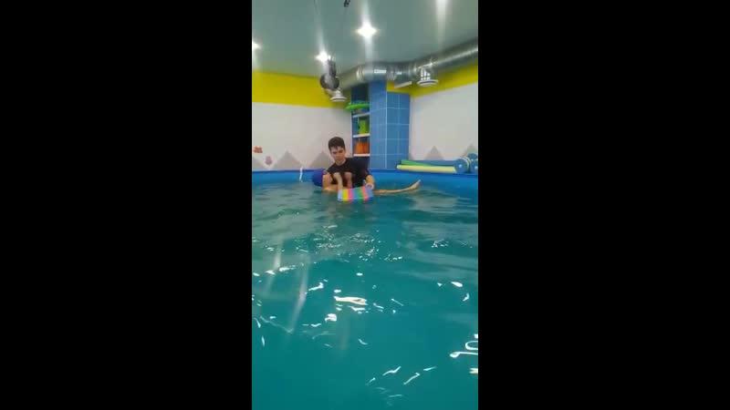 Обучение детей плаванию - Тренер Никита Калиничев