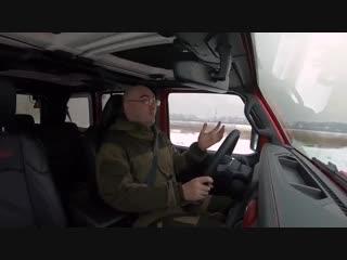 Что может новый jeep wrangler разобрали, загнали на бездорожье. тест-драйв