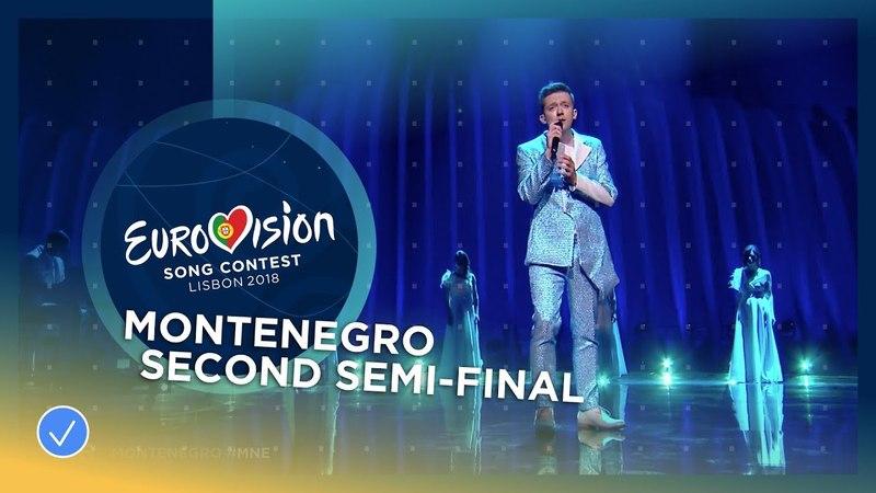 16 Vanja Radovanovic Чорногорія Inje Другий півфінал Eurovision 2018