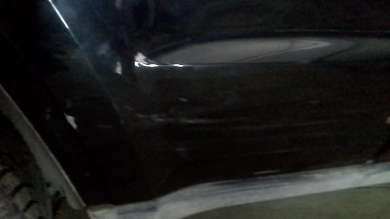 Удаление вмятины на обоих дверях, после ремонта. С последующей покраской, стоимость работы 20тр.
