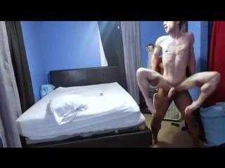 Black hot man fuck a hot bitch pussyboy (gay)