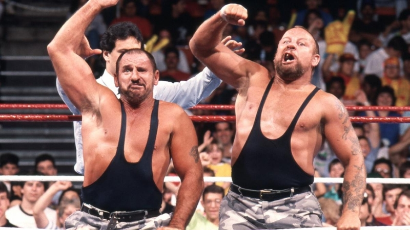 The Bushwhackers are announced for the WWE Hall of Fame Class of 2015: Raw, February 23, 2015