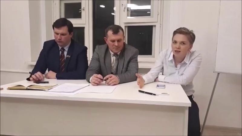 «Свободу Шестуну»: Влада Русина и сын Александра Шестуна