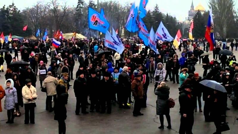 Одесса 1 марта 2014 Русвесна в городе