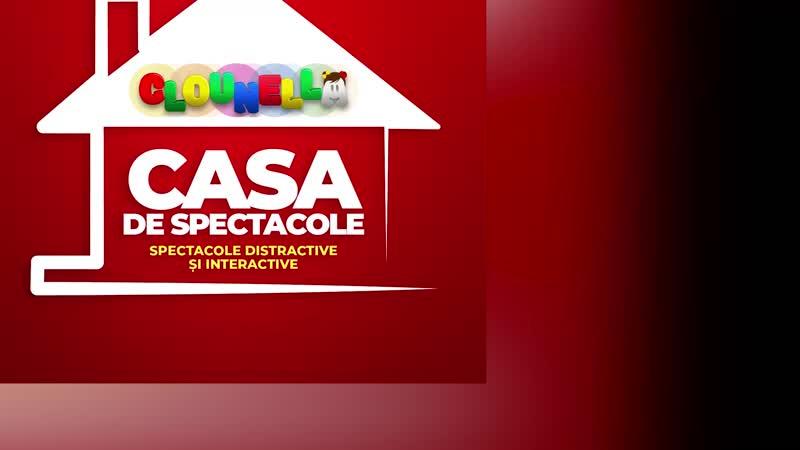 Spectacol de Animație pentru Copii - Aventurile celor Trei Purceluși la Cricova, pe 26 octombrie, ora 17-30