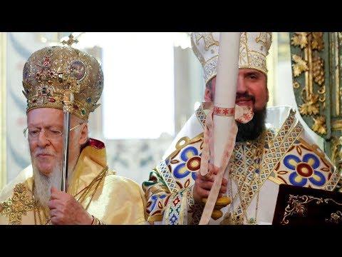 LIVE | Різдво. Святкова літургія в Софії Київській. Представлення томоса