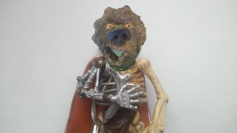 Игрушки нашего детства Воины скелеты Skeleton Warriors