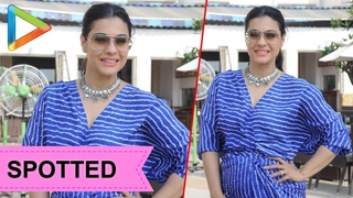 SPOTTED: Kajol @Promotion of 'Helicopter Eela'