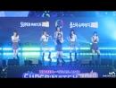 · Fancam · 180408 · OH MY GIRL - Secret Garden · 2018 Korea - Thailand Volleyball All Star Super Match ·