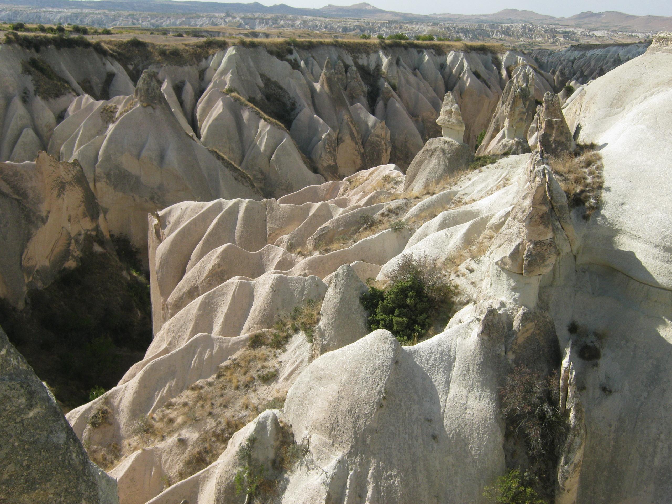 Опасность каньонов Каппадокии