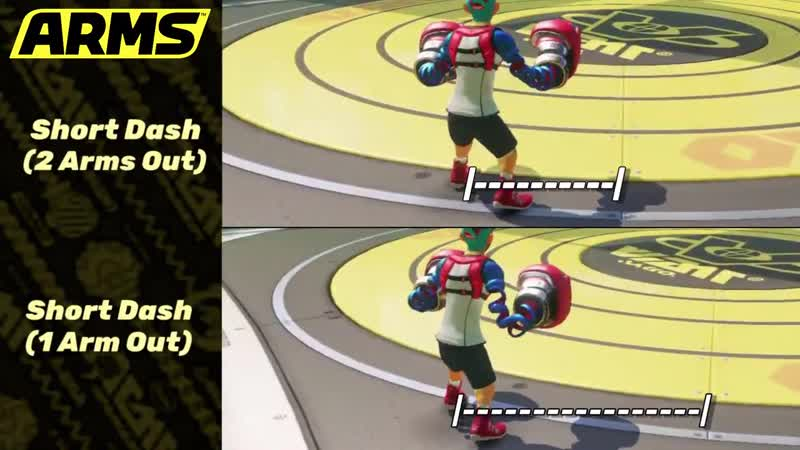 ARMS TIPS SHORT DASHES LIMITED MOBILITY WHILE ATTACKING Whenever you throw out an Attack your mobility is dramatically decre