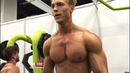 Fitness Model Hagen Richter Gym Pump Styrke Studio (Full vid link below)