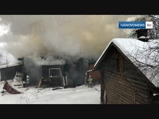 В Иванове сгорела 4-летняя девочка