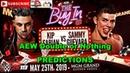 AEW Double or Nothing Kip Sabian vs Sammy Guevara Predictions WWE 2K19