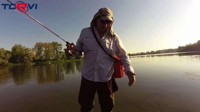 Рыбалка с Сергеем Казанцевым Torvi Лиман преимущества