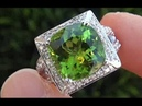 Desperate Housewife Sells Her Precious Van Cleef Arpels GIA Certified Peridot Diamond Ring
