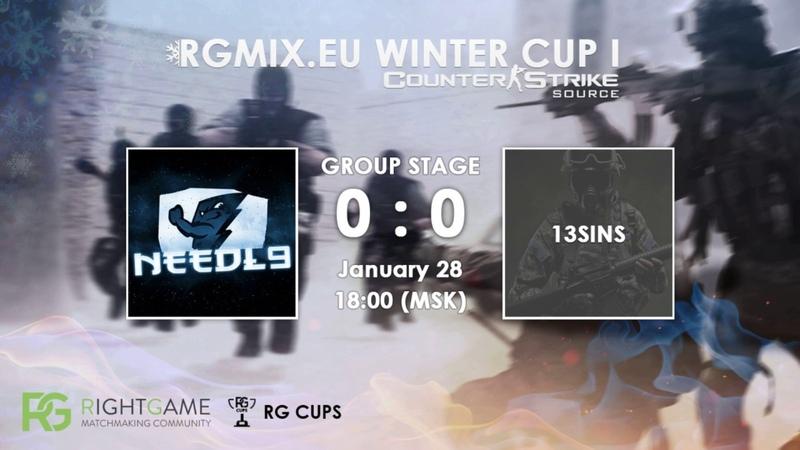 RGMIX.eu Winter Cup 1 [Needl9 vs 13SINS] Group B