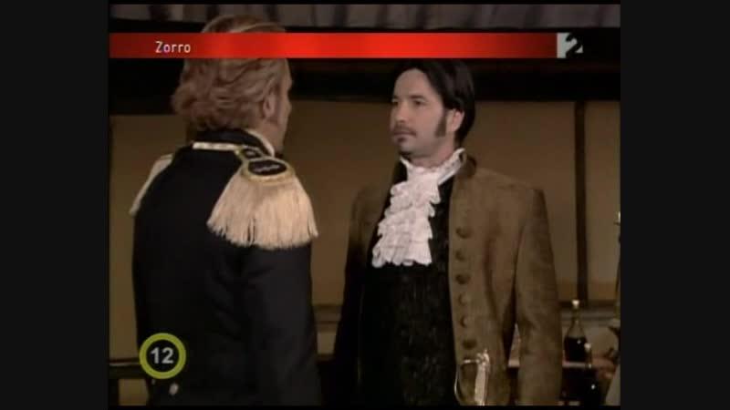 Зорро Шпага и роза Zorro La Espada y La Rosa 2007 108 серия 1