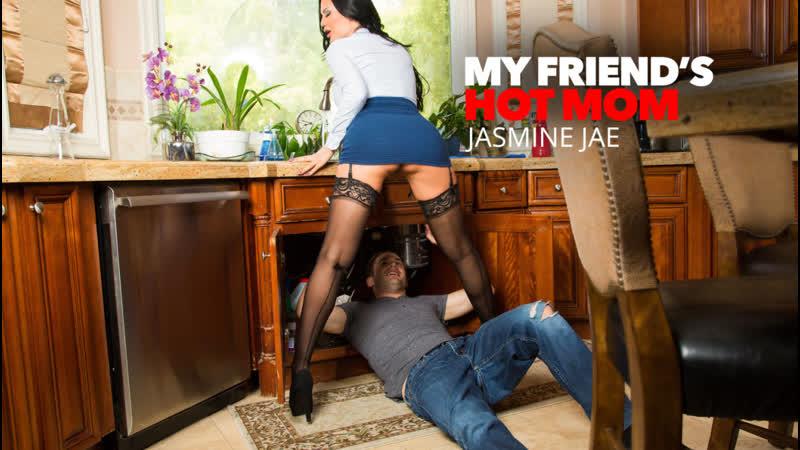 Jasmine Jae My Friend s Hot Mom Naughty America. Big Ass, Big Tits, MILF, Stockings, Fake Tits,