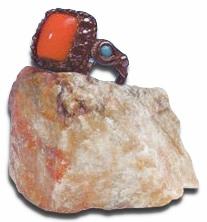 Кольцо Б.Н. Абрамова,полученное от Н.К. Рериха