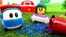 Video e giochi per bambini. Leo si prepara per le gare. Macchinine giocattolo