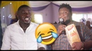 Komfo College and Oteele entertaining their fans at wedding ceremony 🤣🤣🤣🤣🤣🤣