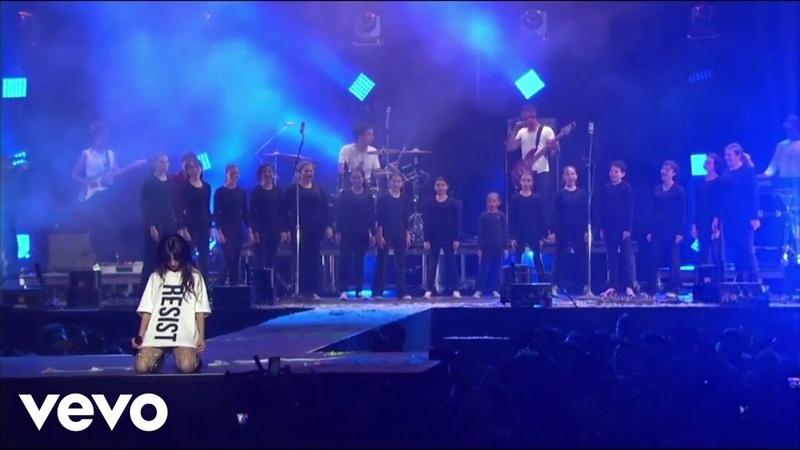 Camila Cabello Zedd Mike Einziger Man in the Mirror Live at Zedd's ACLU Benefit Concert