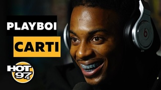 Playboi Carti Reveals He Had A 'Good Week' w/ Blac Chyna & Talks Face Tattoos & Lean