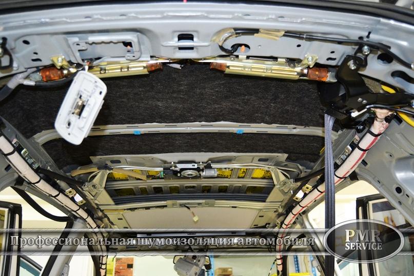 Шумоизоляция Honda CRV, изображение №7