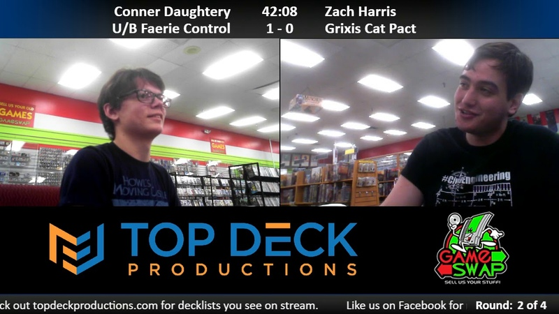 Modern w Commentary 12 11 18 Conner Daughtery U B Faeries vs Zach Harris Grixis Cat Pact