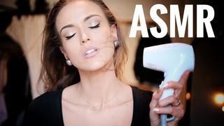 ASMR Gina Carla#Relaxing Hair Dryer Sound! My Weird Habit!