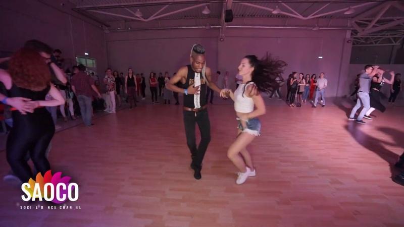 Daniel Torriente and Katerina Mik Salsa Dancing at Rostov For Fun Fest 2018 Sunday 04 11 2018 SC
