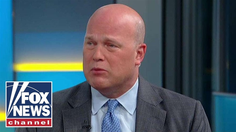 Whitaker says it was clear Mueller didn't have a grasp of Russia report