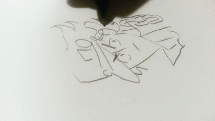 Lizi barbakadze on Instagram Doodlin smol Joot real time jjba jojonokimyounabouken jojosbizarreadventure jojo jotarokujo drawing drawingproce