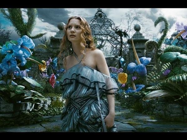 Алиса в стране чудес 2010  русский трейлер