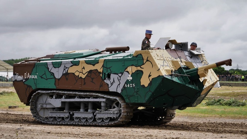 First World War Tanks TankFest 2018 4K