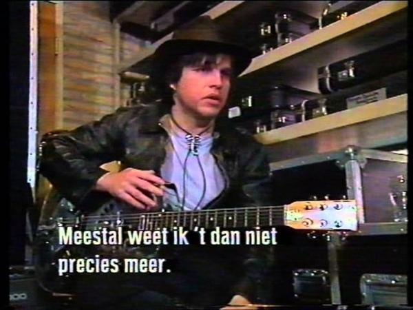 Jeffrey Lee Pierce Gun Club 1989 TV Special