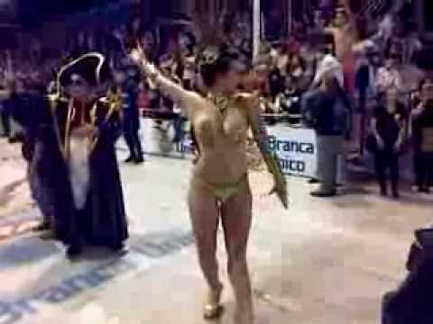 Carnaval de Gualeguaychú Octava noche 2014. La sensualidad de Kamarr