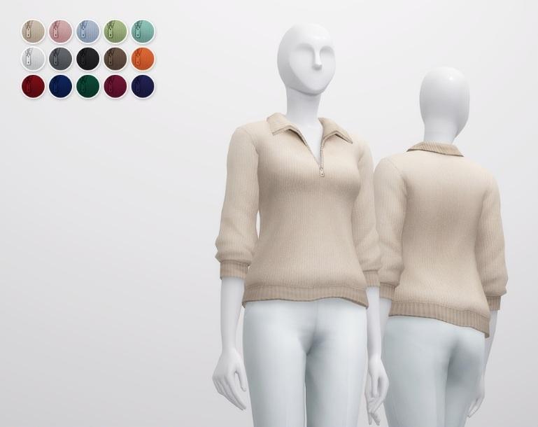 Повседневная одежда (топы, рубашки, свитера) - Страница 58 L1Sr6eEC35o