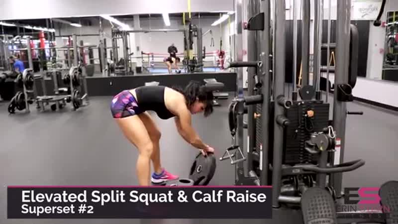 Complete Leg Workout _ Cable Machine