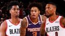 Phoenix Suns vs Portland Trail Blazers Full Game Highlights October 12 2019 NBA Preseason