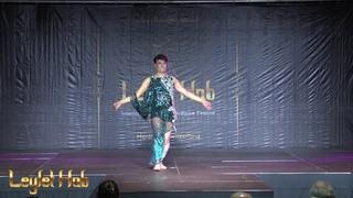 Khaled Mahmoud performing  at LEYLET HOB festival  Montreux-Switzerland 2019 by Mimi Sokolova