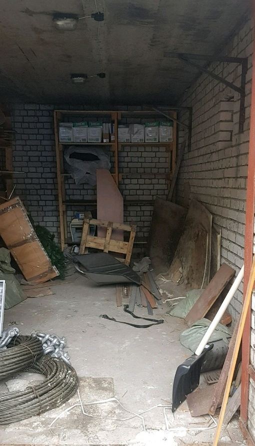 гараж кирпичный Ильинская 2