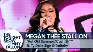 Megan Thee Stallion ft. Ty Dolla $ign and DaBaby:Hot Girl Summer/Cash Sh** Medley