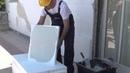 Εφαρμογή τσιμεντοειδούς σοβά HYDROSTOP PLASTER ELASTIC από τη DUROSTICK
