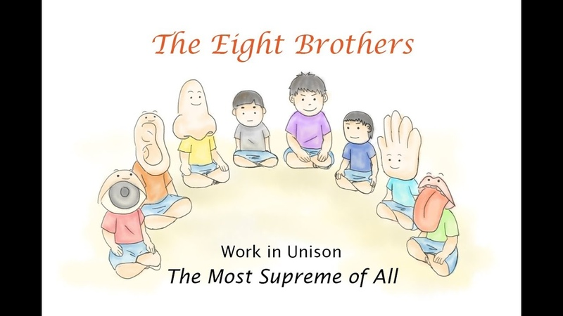 Video Book The Eight Brothers (English Version)