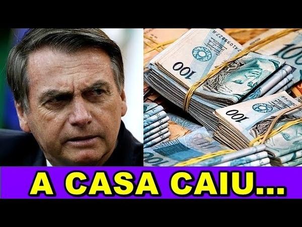 BOLSONARO Revela Esquema de 3 BILHÕES de Reais no Brasil...